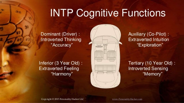INTP Personality Type (Accuracy/Exploration)