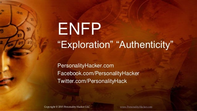 ENFP Personality Type (Exploration/Authenticity)