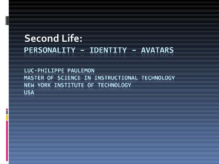 Second Life: