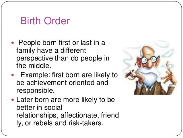 first born dating last characteristics