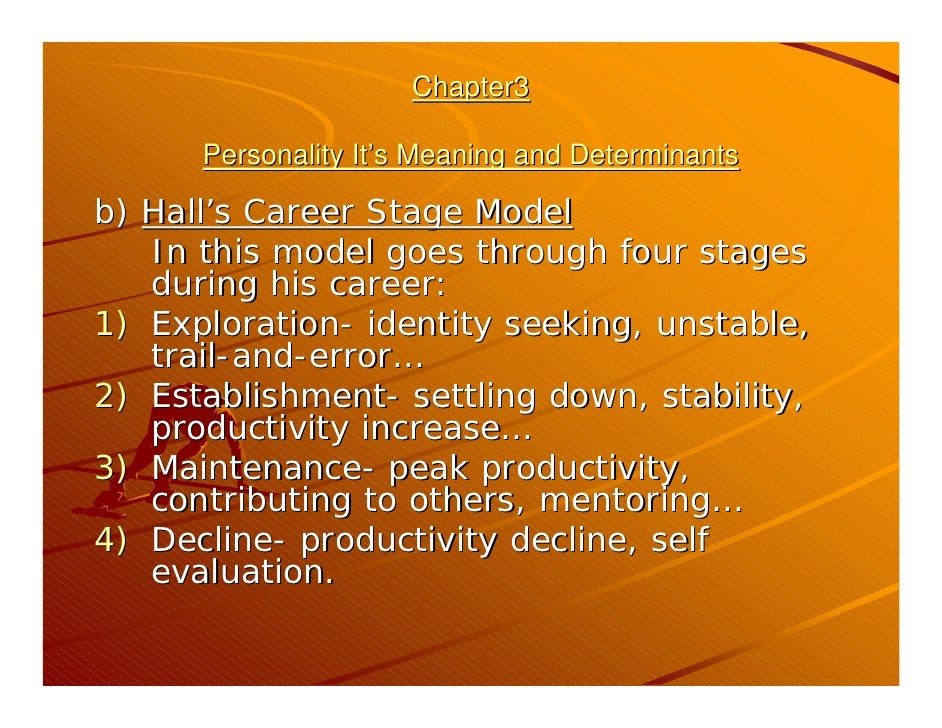 determinants of personality development Recently published articles from journal of research in personality development and validation of the comparing and contrasting two determinants of goal.
