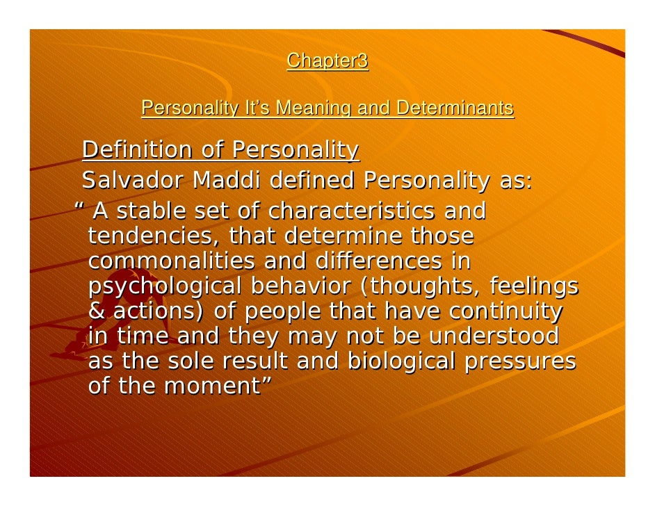 the definition of personality The validity of the operational' definition of ad- justment, in terms of the statement  personality adjustment is what the personality adjustment tests measure but.