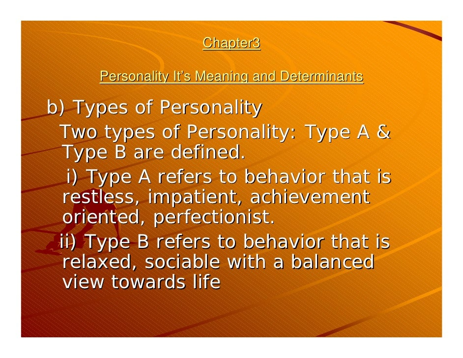 personal determinants Social cognitive theory of personality albert bandura this chapter addresses the personal determinants and mechanisms of human functioning from the perspective of.