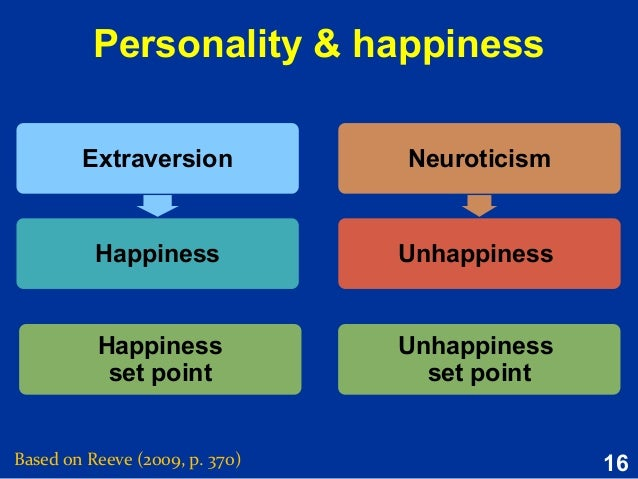 extraversion and neuroticism
