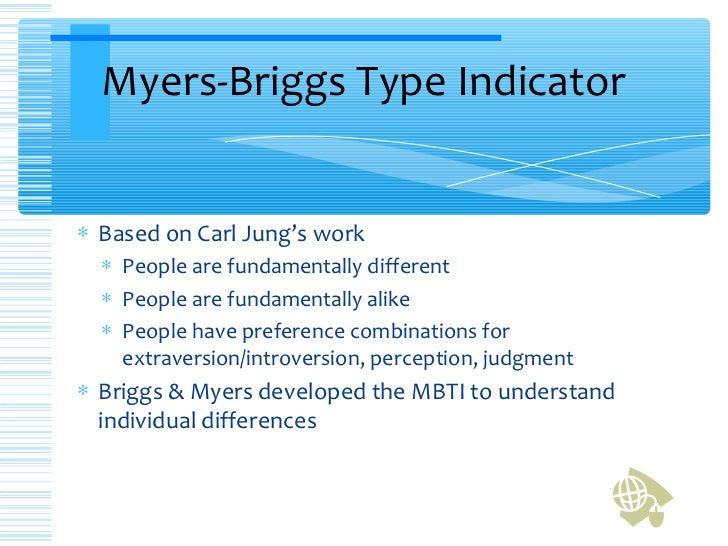 Myers-Briggs Personality Type Indicator (MBTI)
