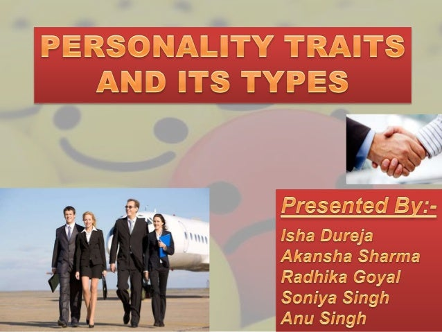 The sum total of ways in which an individual reacts and interacts with others. Personality is a pattern of stable states a...