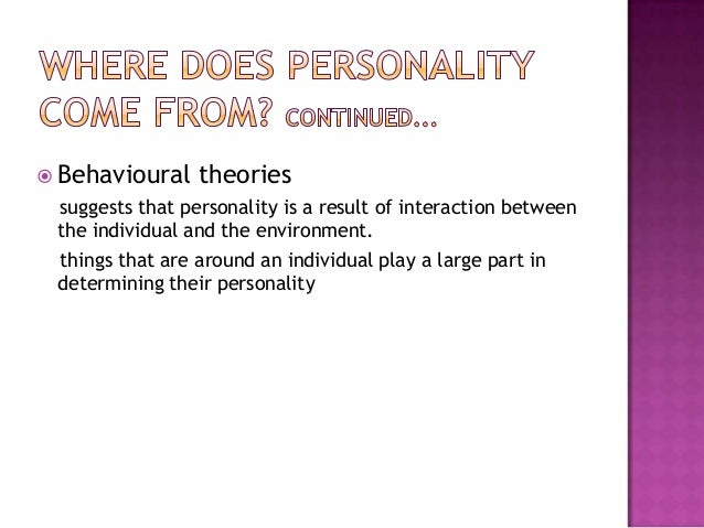 Projective and Objective Personality Tests