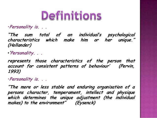 personality-presentation-2013-4-638 What Is Martens Schematic View Of Personality on