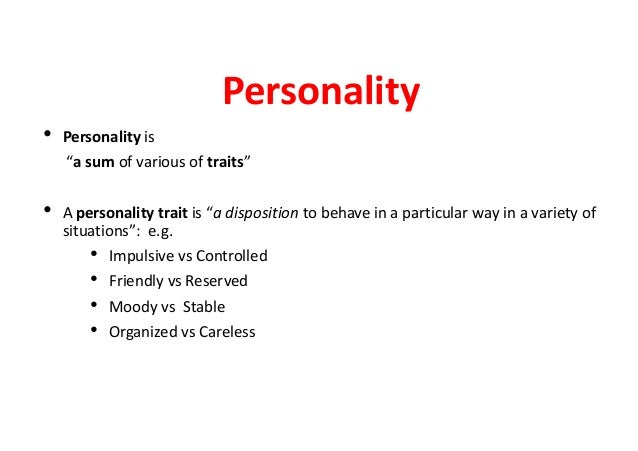lecturers personality Video 3: what is personality to view this video please enable javascript lecturer uwa business school aleksandra luksyte senior lecturer.