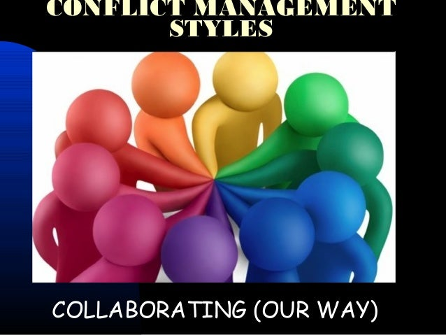 analyzing personal conflict management styles Chapter one: understanding your management style  three distinct styles of management will be discussed  after analyzing your personal style,.