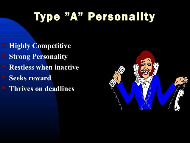Personality types and styles of conflict management