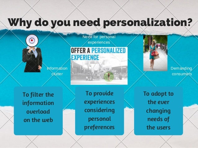 Personalization as we know it Slide 3