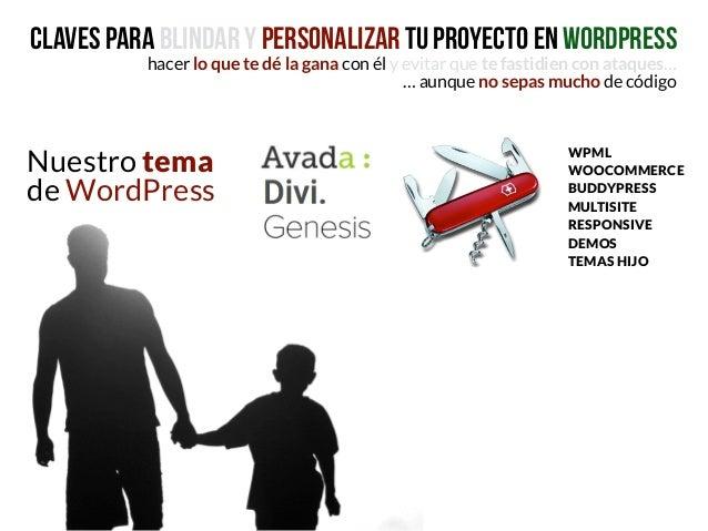Personaliza tu WordPress con un tema hijo