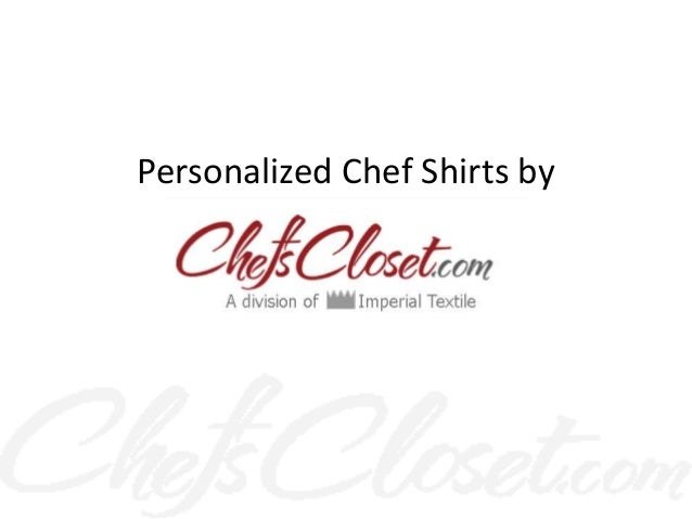Personalized Chef Shirts by