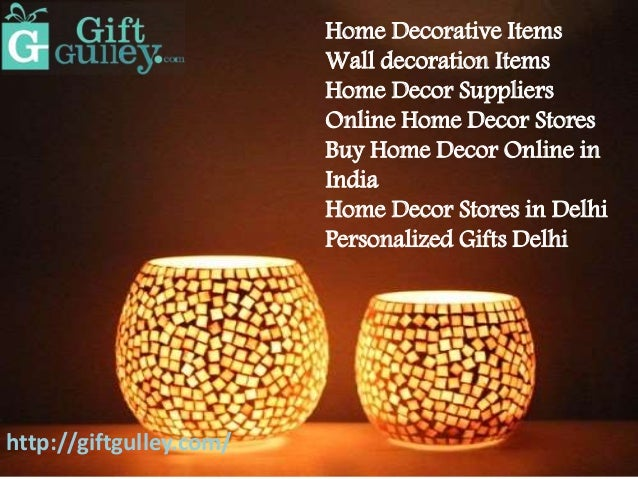 Home Decoration Items Online India - Home Decor