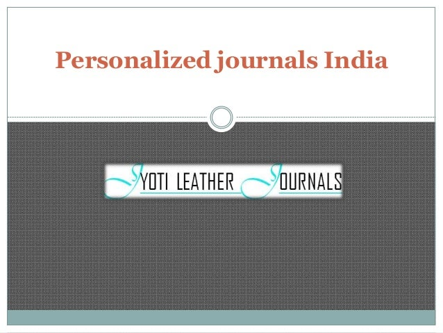 personalized journals india