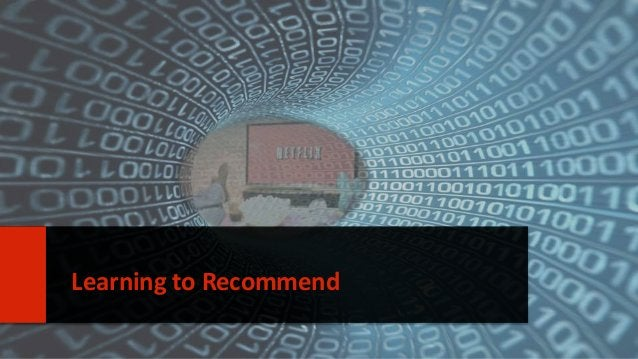 14  Learning to Recommend