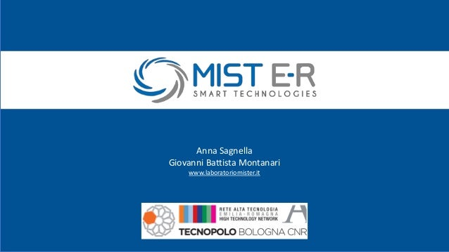 Anna Sagnella Giovanni Battista Montanari www.laboratoriomister.it