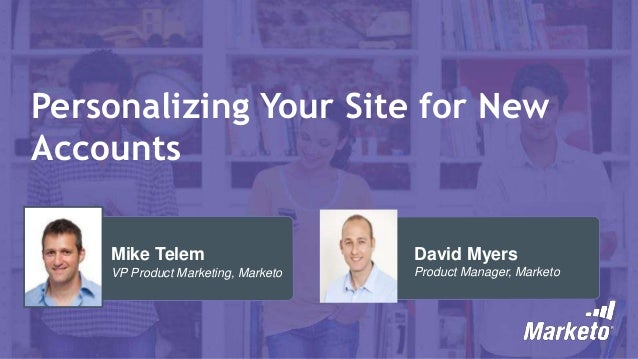Personalizing your site for new accounts