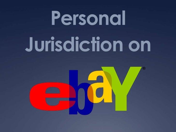 Personal Jurisdiction on<br />