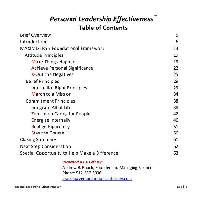 10 Best Ways to Enhance Personal Effectiveness (Methods)
