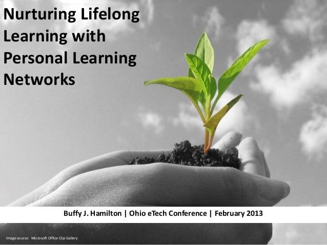 Nurturing LifelongLearning withPersonal LearningNetworks                                  Buffy J. Hamilton | Ohio eTech C...
