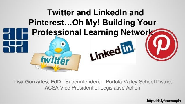 Lisa Gonzales, EdD Superintendent – Portola Valley School District ACSA Vice President of Legislative Action Twitter and L...