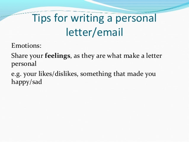 format writing personal letter Personal statement sample letter name address city, state zip date dear committee on academic reinstatement members: introduce yourself and explain why you are writing this letter.
