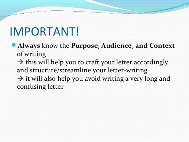 How to write a personal letter confusing letter 7 altavistaventures Choice Image