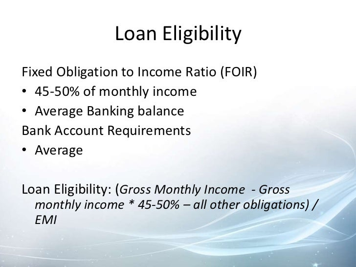 What would my loan payments be?