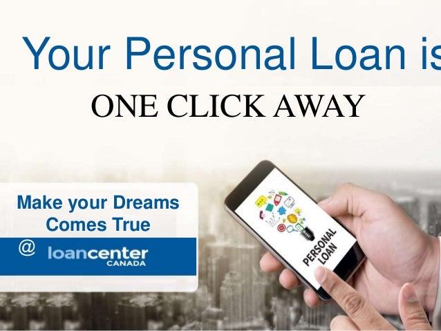 One Click Loan >> Personal Loans Canada
