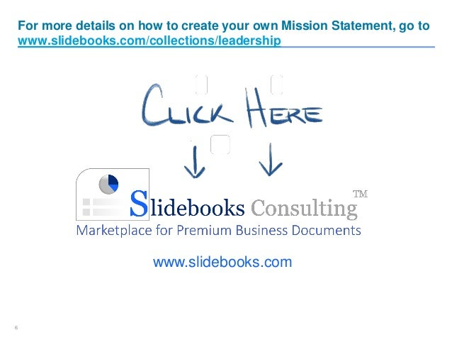 Create Your Own Mission Statement Eczalinf