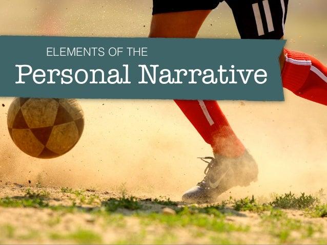 Elements of personal narrative essay