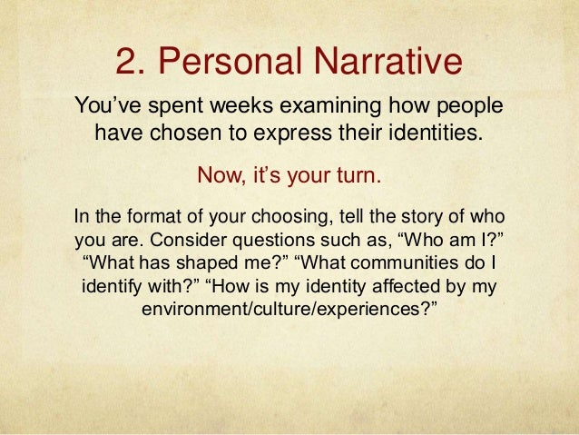 personal narrative assignment personal narrative proposal rubric need to create 13 2