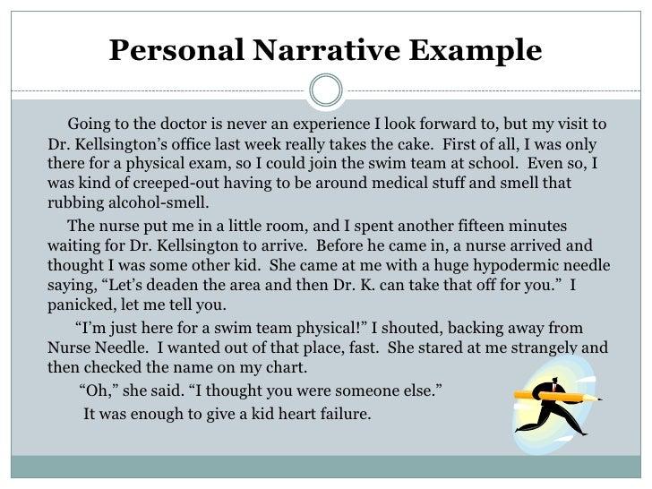 example of narrative essay writing