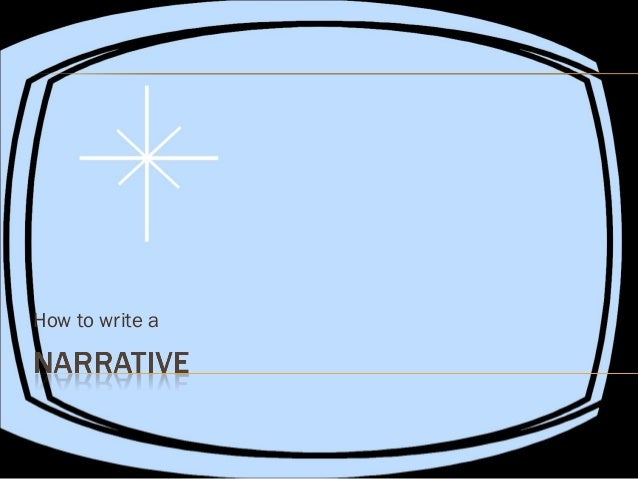 How to write a