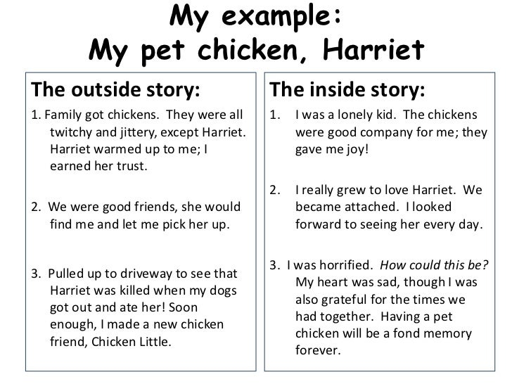 personal narrative rough draft 1 personal narrative rough draft 2 my example my pet