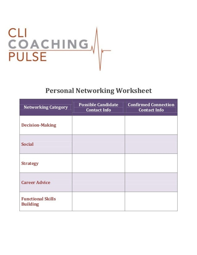 personalnetworkingworksheet1638jpgcb 1391173381 – Decision Making Skills Worksheets