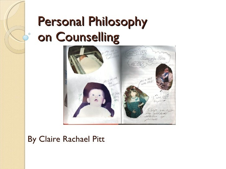 personal philosophy of counseling All students have the ability to self-advocate, exhibit personal responsibility, and   therefore, the john champe high school comprehensive school counseling.