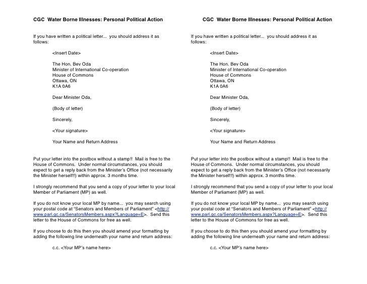 CGC Water Borne Illnesses: Personal Political Action                 !         CGC Water Borne Illnesses: Personal Politic...