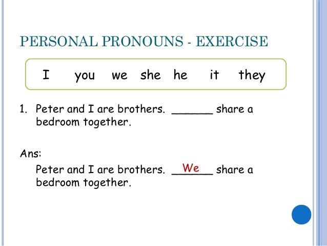 personal pronouns. Black Bedroom Furniture Sets. Home Design Ideas