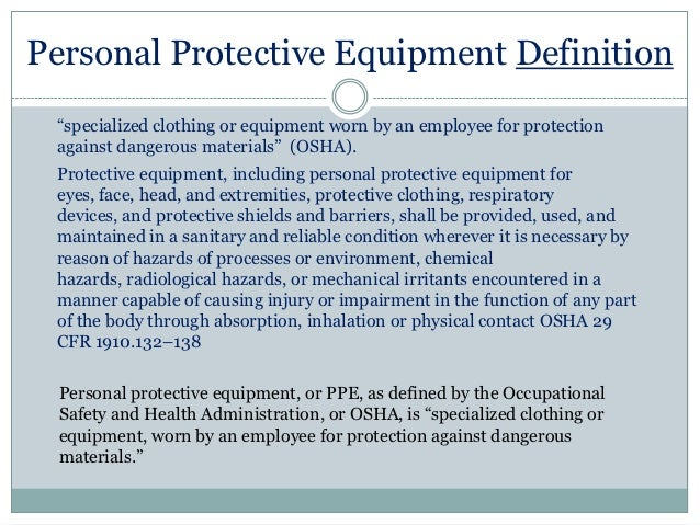 What does CFR stand for in OSHA (for example OSHA CFR 1910 ...