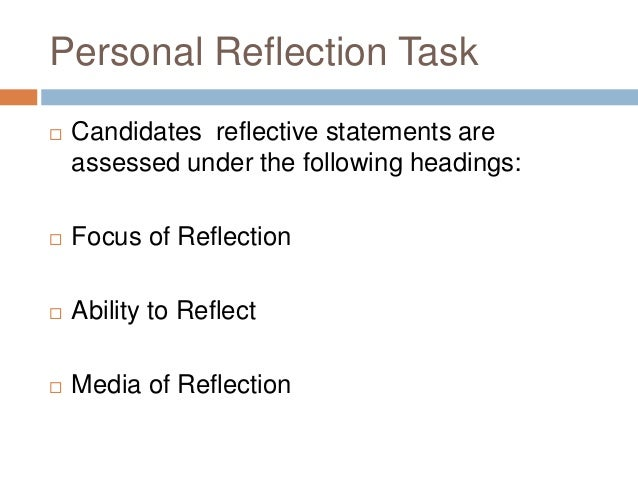 reflective task Was this an easy or a difficult task to undertake why did you recruit others to help accomplish your goals or raise awareness of the problem you are reflection template to create a thoughtful essay wherein you articulate what you have learned from.