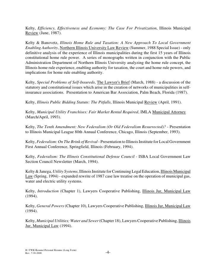 student resume published