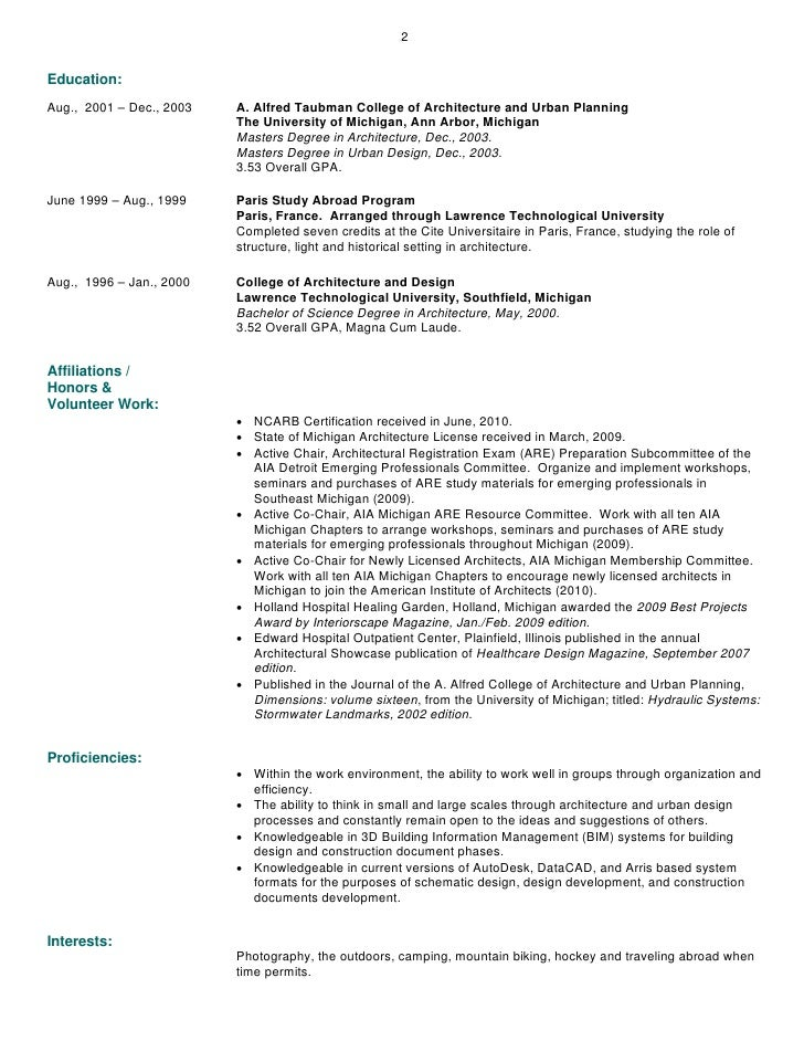 Urban Planning Resume Arch Times Com