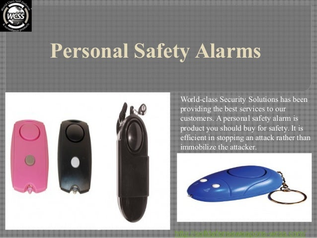 Personal Safety Alarms World-class Security Solutions has been providing the best services to our customers. A personal sa...