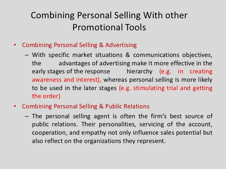 disadvantages of personal selling