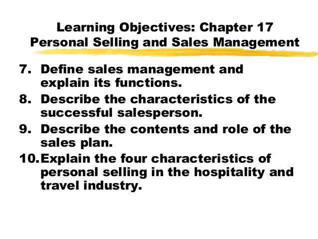 Personal selling & sales management - Unitedworld School
