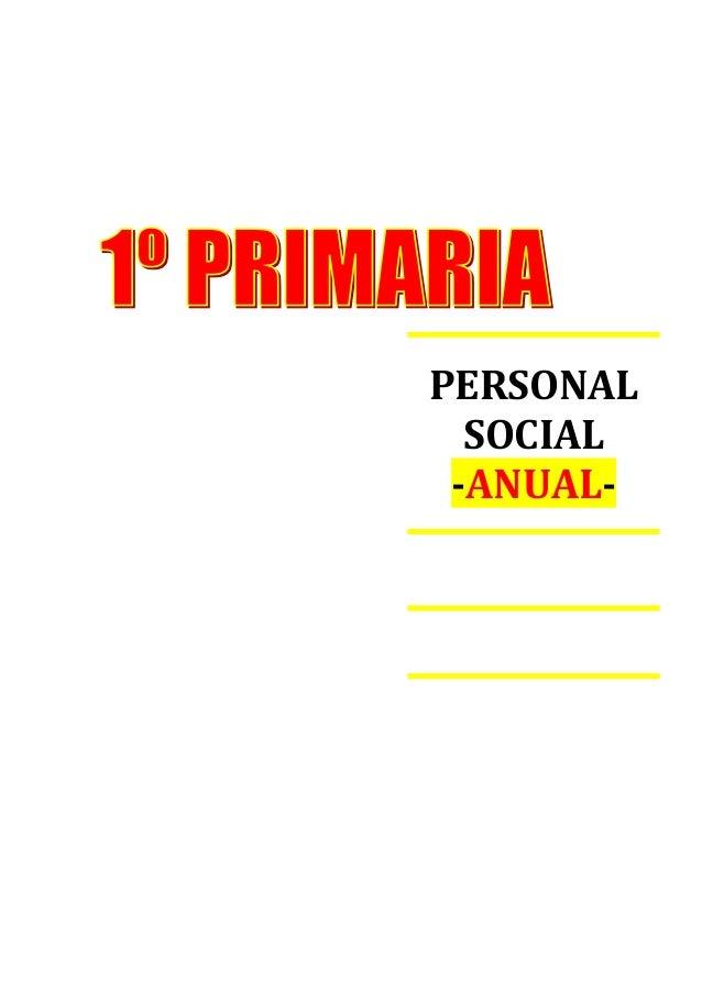 PERSONAL SOCIAL -ANUAL-