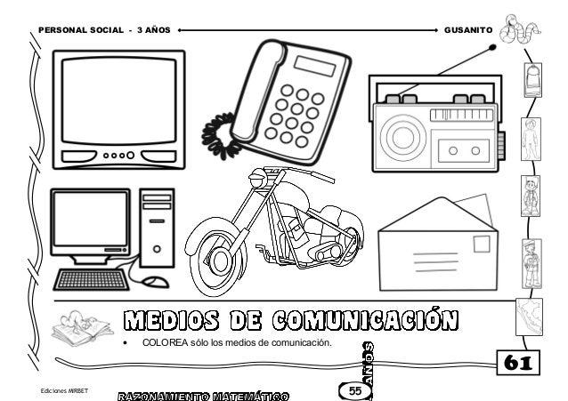 Dibujos Para Pintar Medios De Comunicacion Medios De Comunicacion
